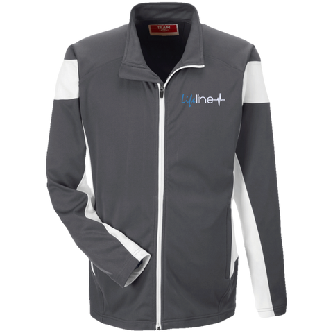 Image of LIFE Line Team 365 Performance Colorblock Full Zip