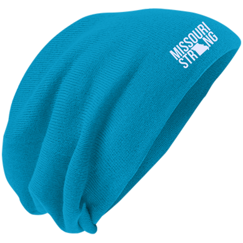 Image of MO Strong - Slouch Beanie - Kick Merch - 5