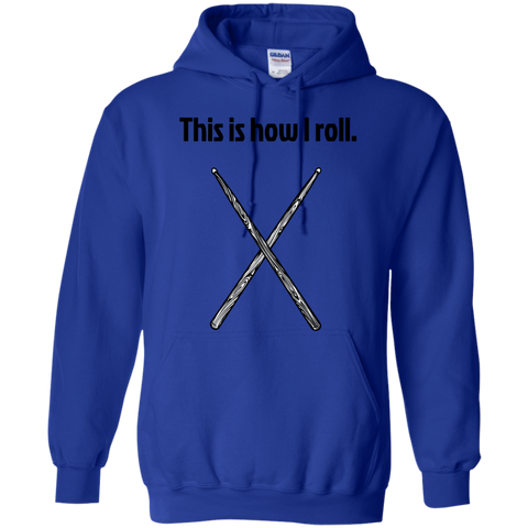 Image of This is how I Roll - Pullover Hoodie - Purple Bee Designs - Kick Merch - 10