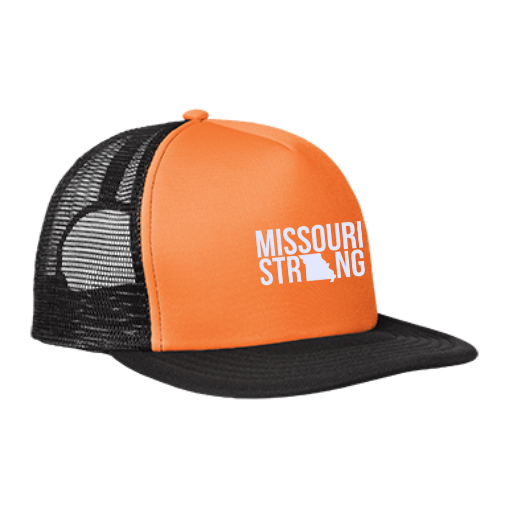 MO Strong - Trucker Hat with Snapback - Kick Merch - 2