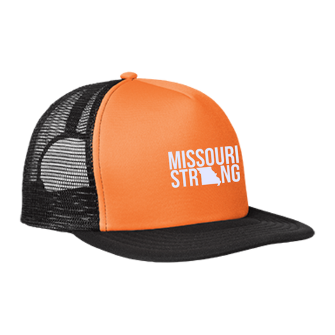 Image of MO Strong - Trucker Hat with Snapback - Kick Merch - 2