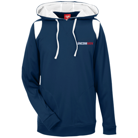 Image of UNCOMMEN Logo - Team 365 Colorblock Poly Hoodie