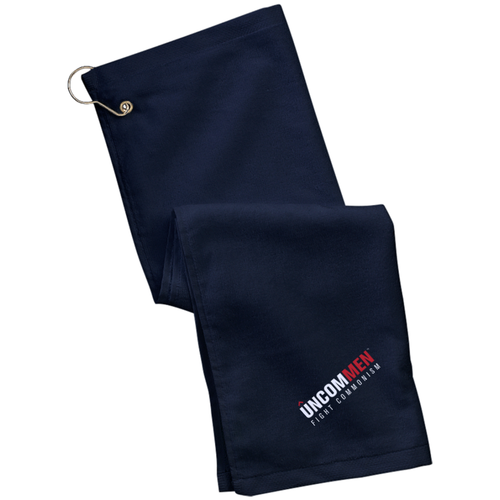 UNCOMMEN Fight Commonism - Grommeted Golf Towel