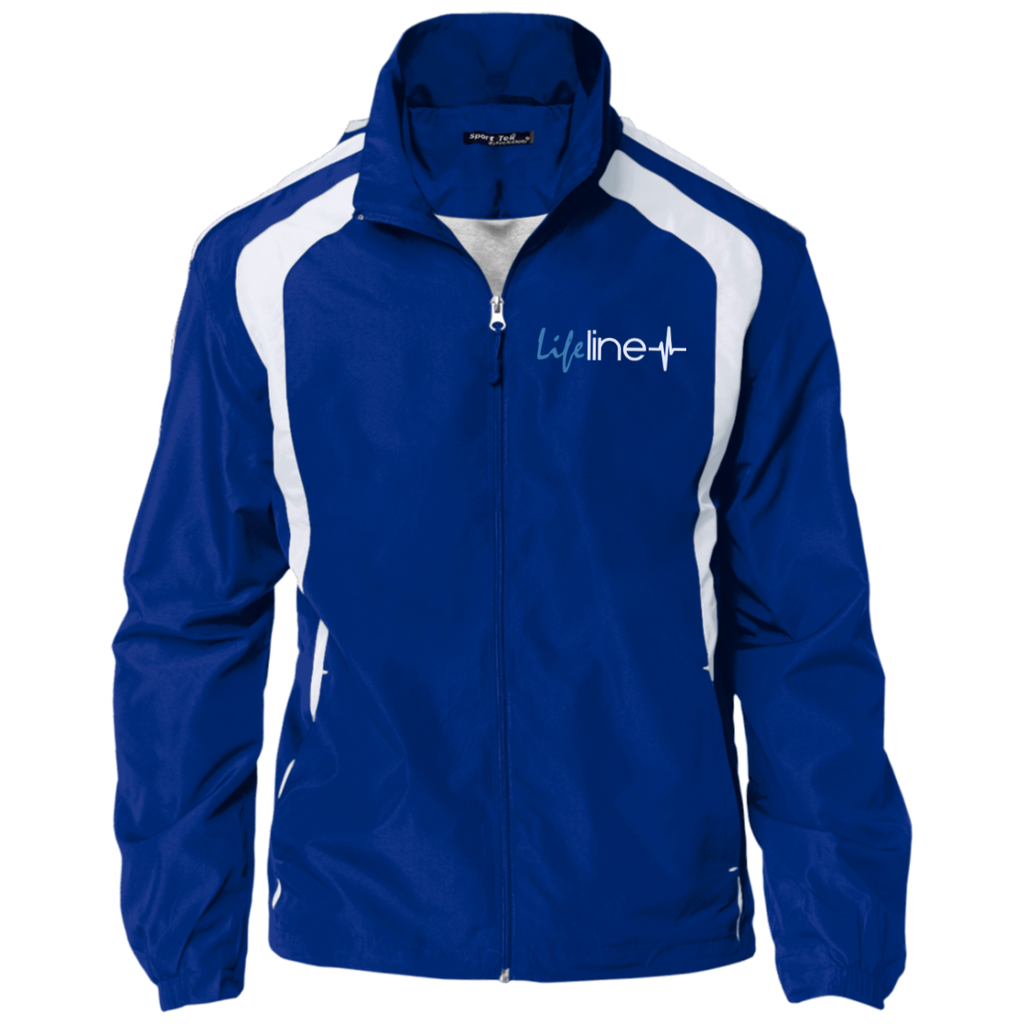 LIFE Line Personalized Jersey-Lined Jacket