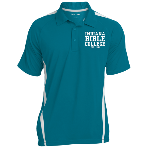 Image of IBC - Colorblock 3-Button Polo