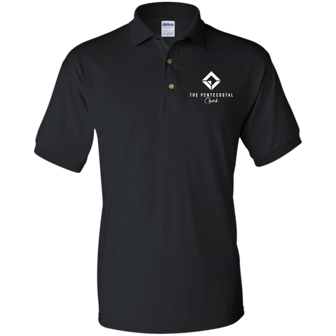 Image of The Pentecostal Church Basic Cotton Polo Shirt