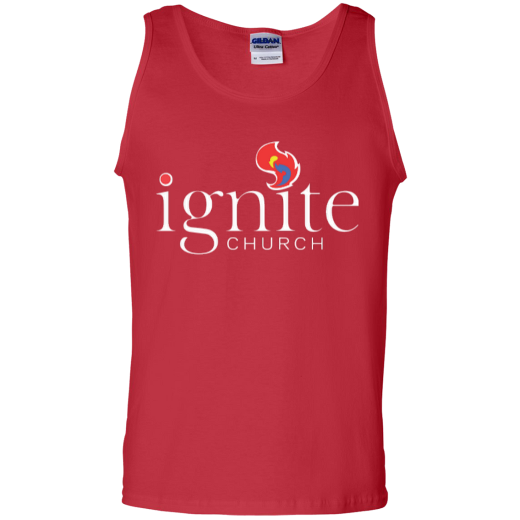 IGNITE church - Cotton Tank Top - Kick Merch - 3