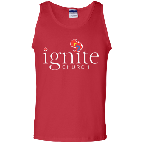 Image of IGNITE church - Cotton Tank Top - Kick Merch - 3