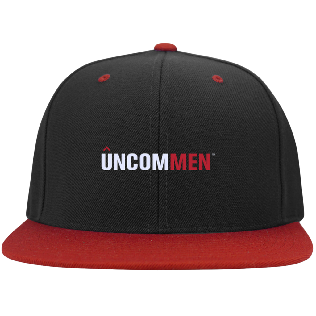 UNCOMMEN Logo - Flat Bill High-Profile Snapback Hat