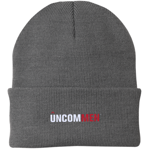 Image of UNCOMMEN Logo - One Size Fits Most Knit Cap