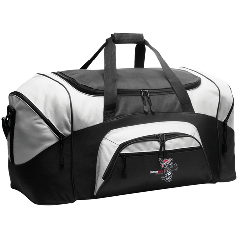 Image of UNCOMMEN Don't Be A Jack - Colorblock Sport Duffel