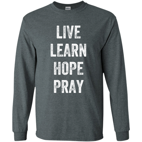 Image of Live Learn Hope Pray
