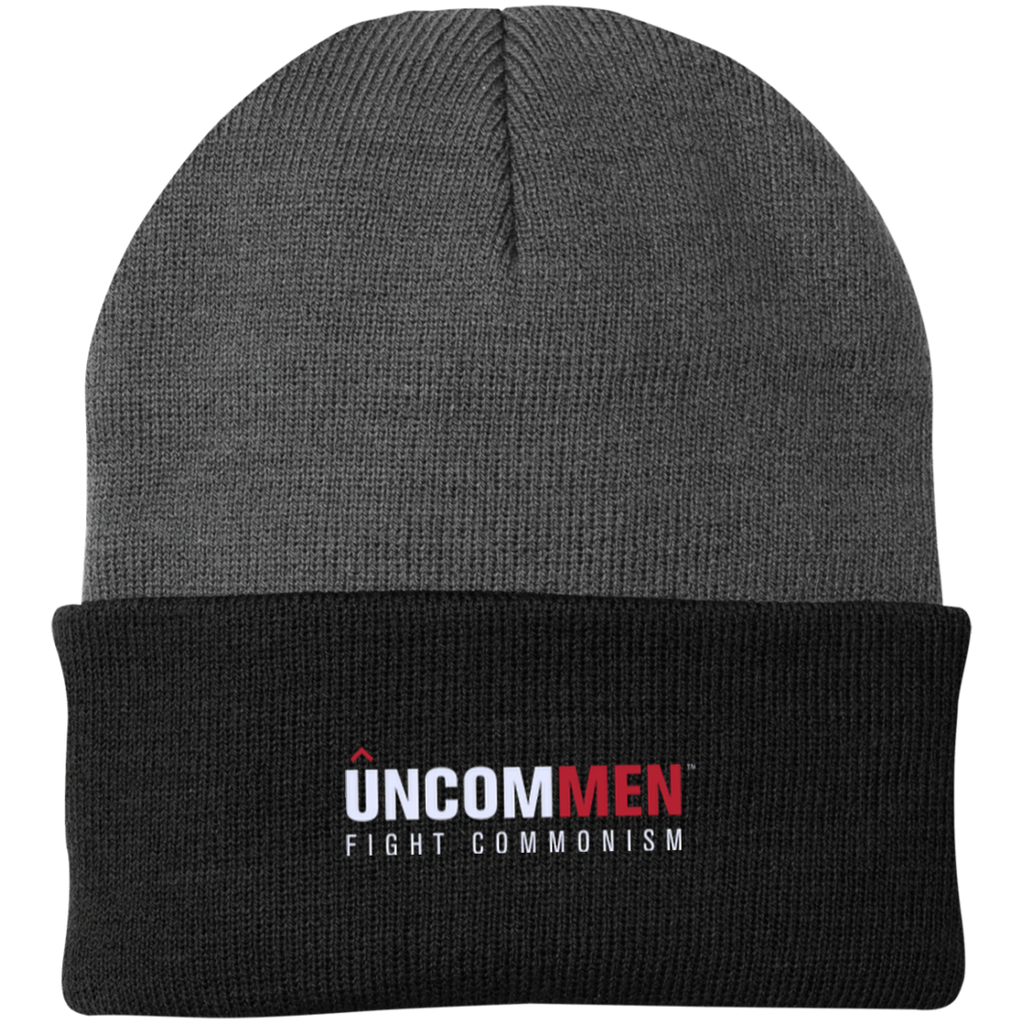UNCOMMEN Fight Commonism - One Size Fits Most Knit Cap
