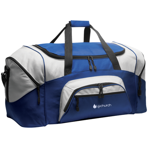 Image of LIFE Church Colorblock Sport Duffel