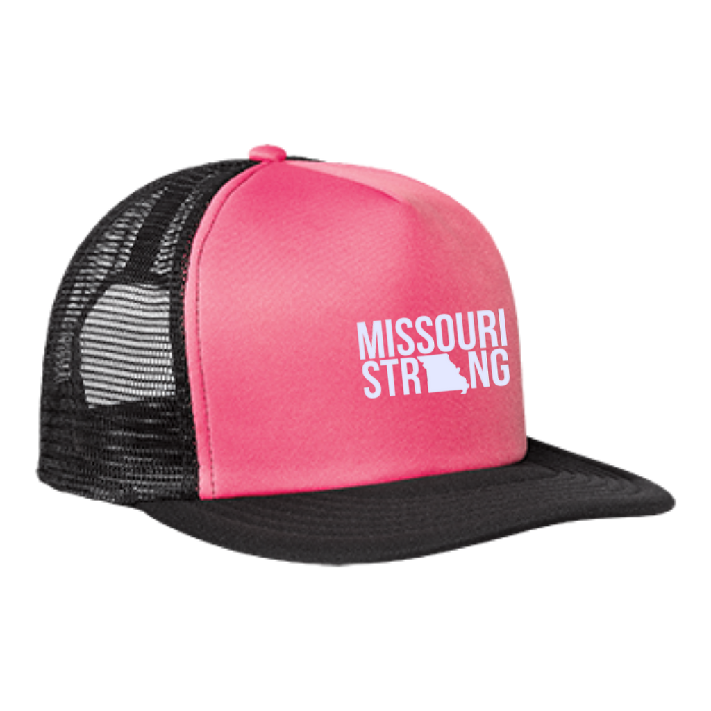 MO Strong - Trucker Hat with Snapback - Kick Merch - 3