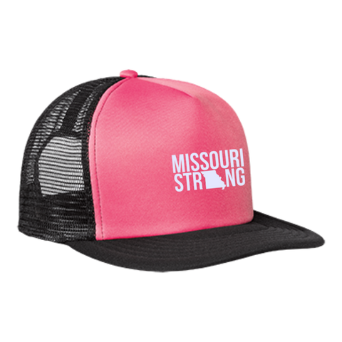 Image of MO Strong - Trucker Hat with Snapback - Kick Merch - 3
