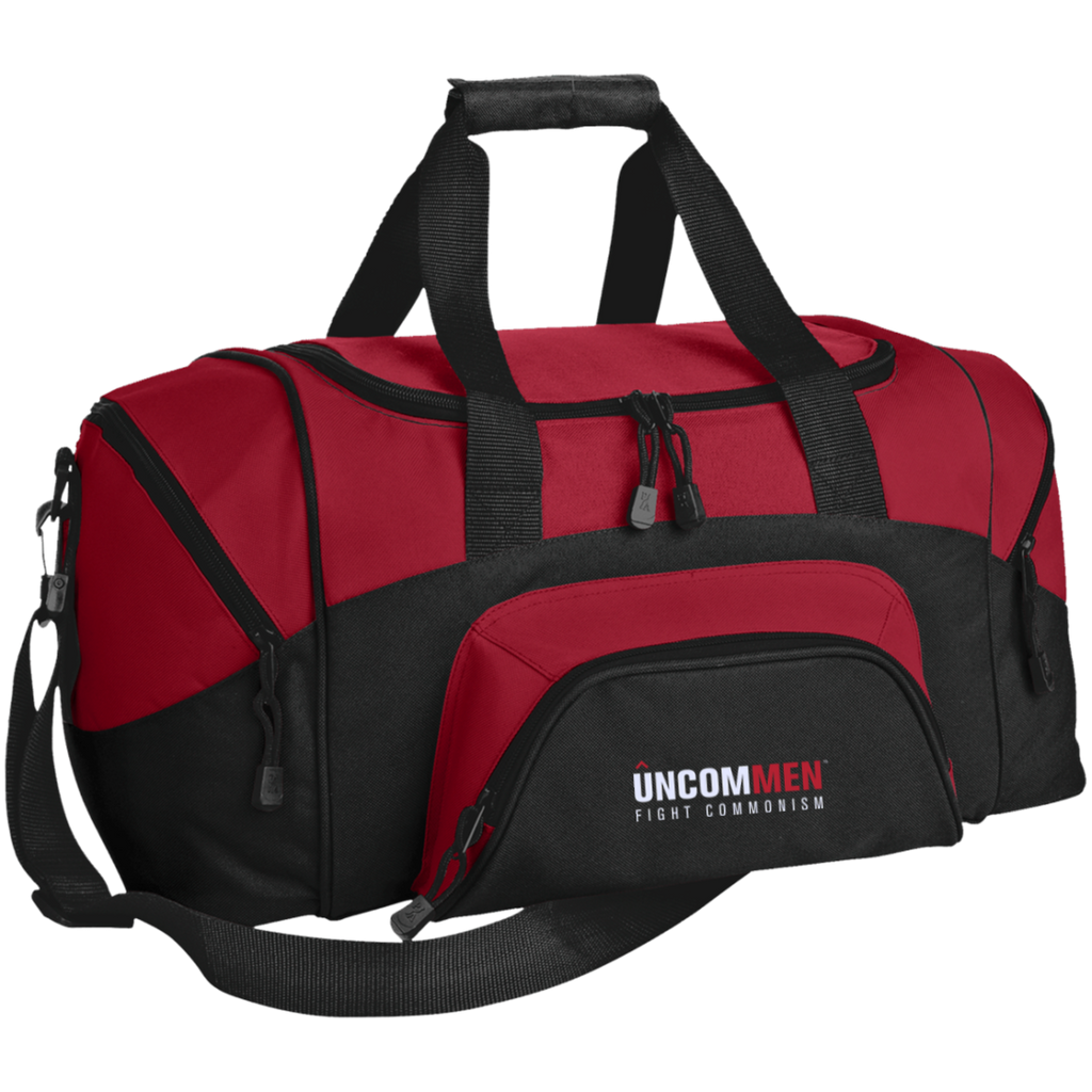 UNCOMMEN Fight Commonism - Small Colorblock Sport Duffel Bag