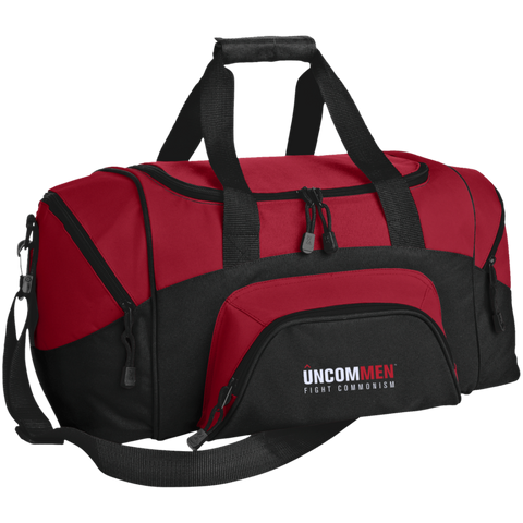 Image of UNCOMMEN Fight Commonism - Small Colorblock Sport Duffel Bag