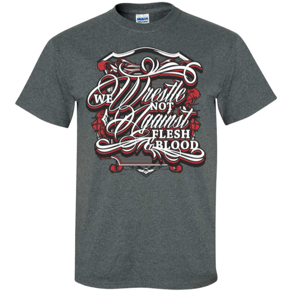 We Wrestle Not - Cotton T-Shirt - Godly Wear - Kick Merch - 1