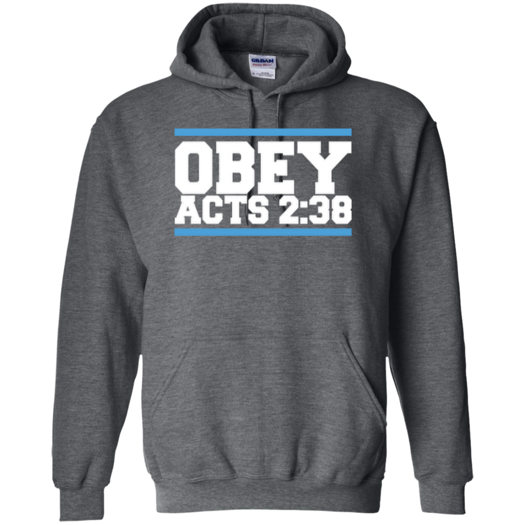 Obey Acts 2:38 - Pullover Hoodie - Kick Merch - 2