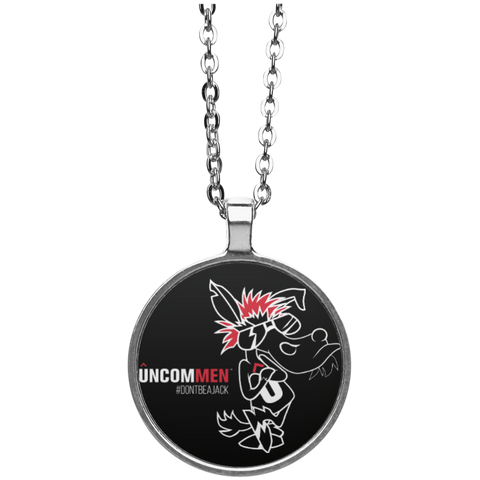 UNCOMMEN Don't Be A Jack - Circle Necklace