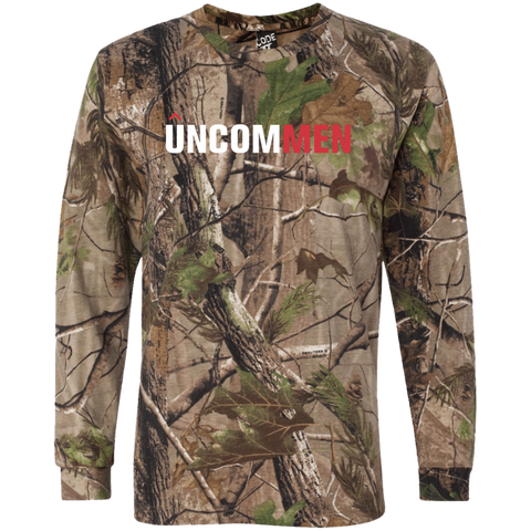 Image of UNCOMMEN Logo - Long Sleeve Camo T-Shirt