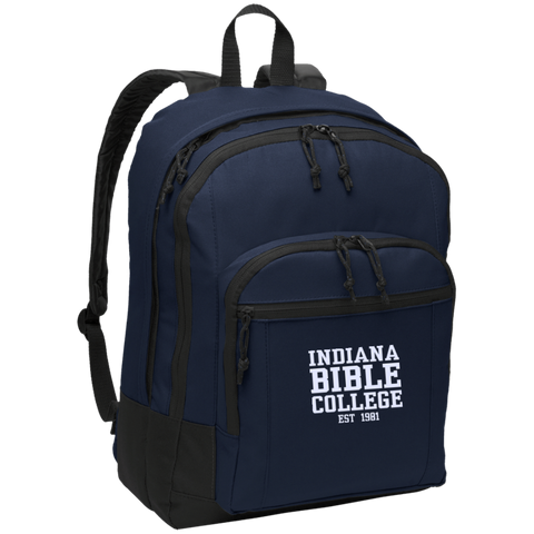 Image of IBC - Basic Backpack - Clean Text Design - Kick Merch - 5
