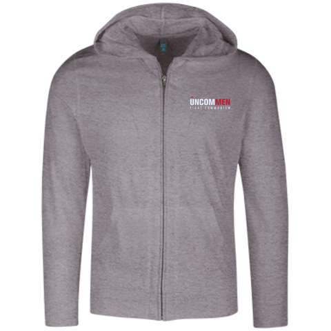 Image of UNCOMMEN Fight Commonism - Lightweight Full Zip Hoodie