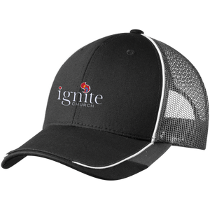 IGNITE Church - Colorblock Mesh Back Cap