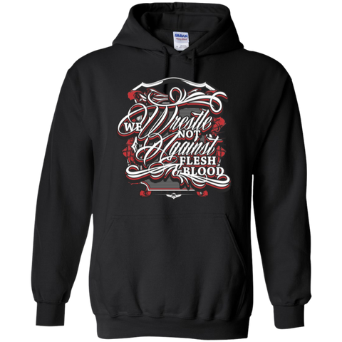 Image of We Wrestle Not - Pullover Hoodie - Godly Wear - Kick Merch - 3