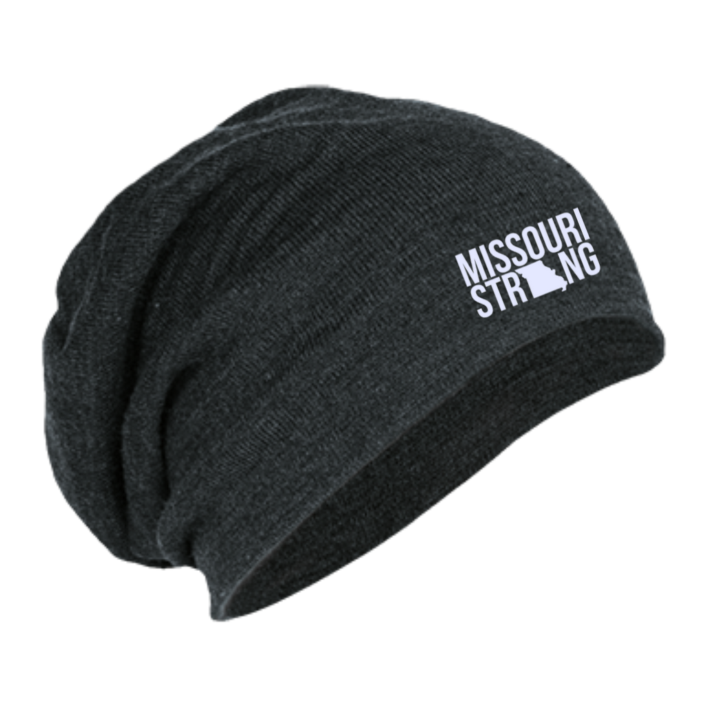 MO Strong - Slouch Beanie - Kick Merch - 1