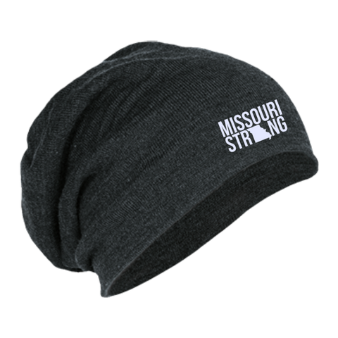 Image of MO Strong - Slouch Beanie - Kick Merch - 1