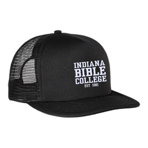 Image of IBC - Clean Text - Trucker Hat with Snapback - Kick Merch - 2