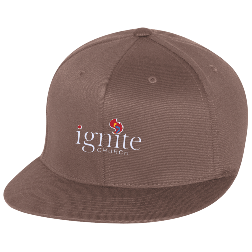 IGNITE church - Flat Bill Twill Flexfit Cap - Kick Merch - 2