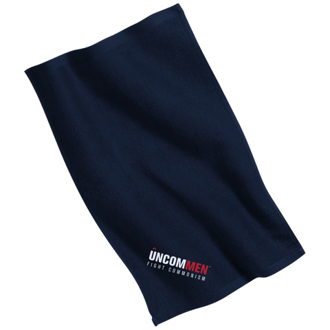 Image of UNCOMMEN Fight Commonism - Embroidered Rally Towel