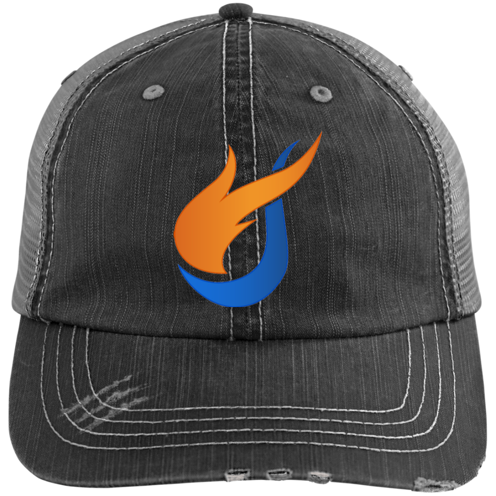 The Pentecostals Of Cooper City - Distressed Unstructured Trucker Cap