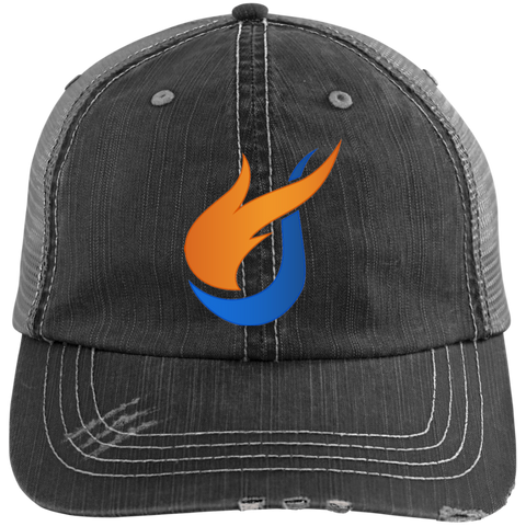 Image of The Pentecostals Of Cooper City - Distressed Unstructured Trucker Cap