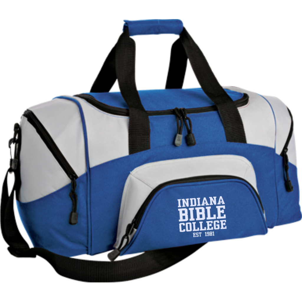 Small Colorblock Sport Duffel Bag - Kick Merch - 6