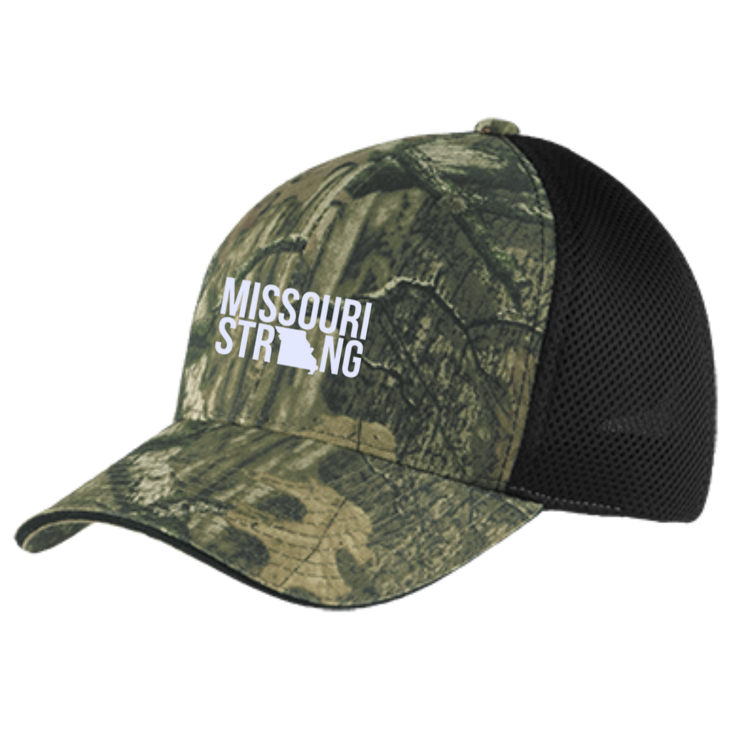 MO Strong - Camo Cap with Mesh - Kick Merch - 1
