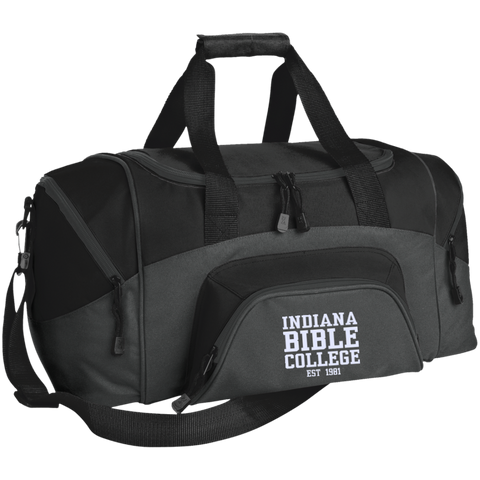 Small Colorblock Sport Duffel Bag - Kick Merch - 7