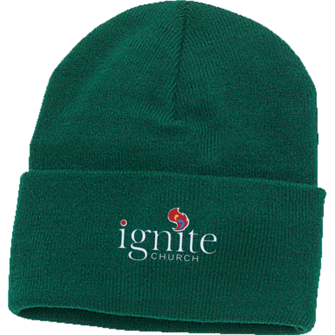 Image of IGNITE church - Knit Cap - Kick Merch - 3