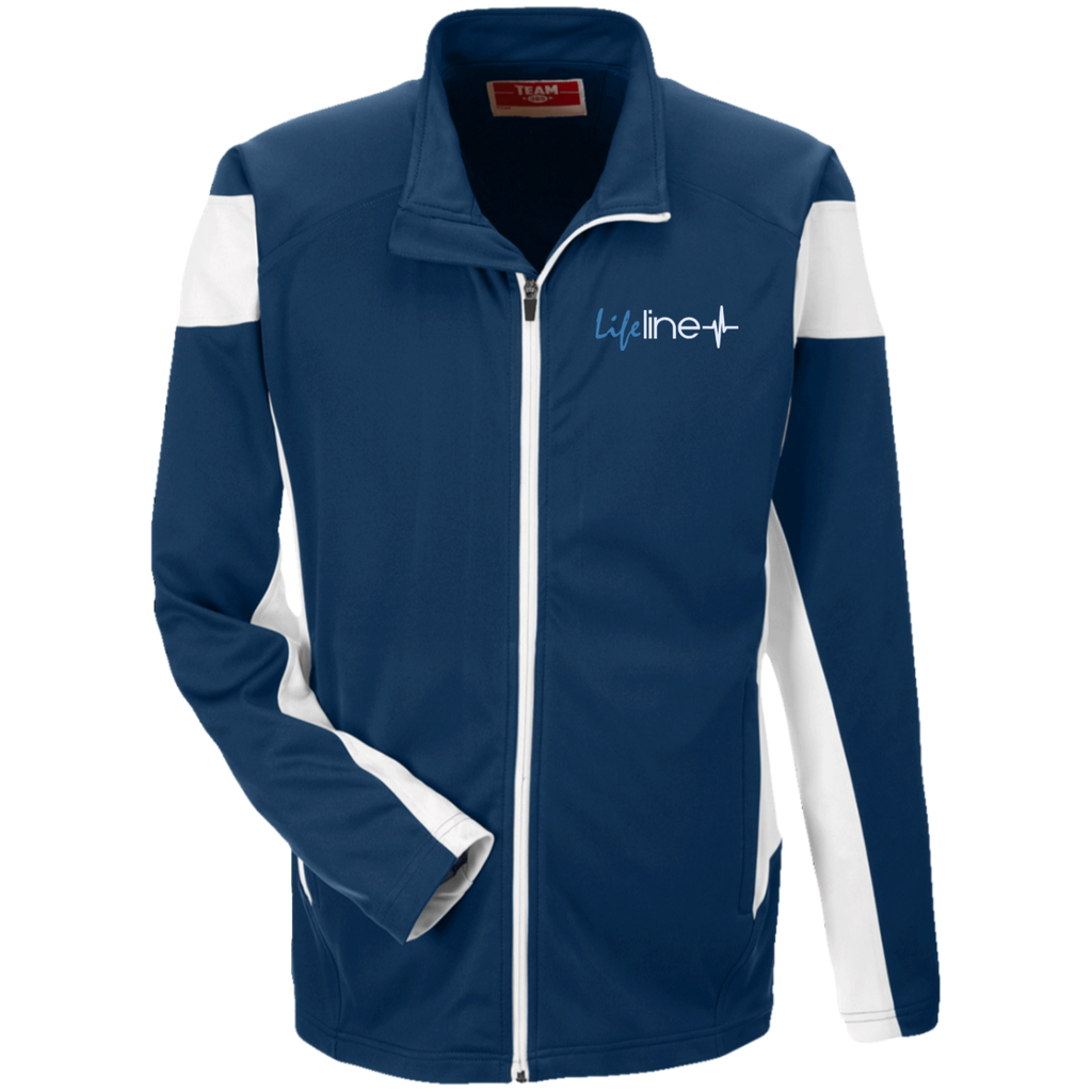 LIFE Line Team 365 Performance Colorblock Full Zip