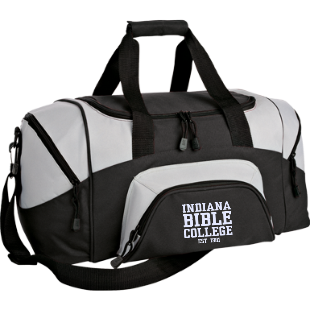 Small Colorblock Sport Duffel Bag - Kick Merch - 1
