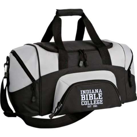 Image of Small Colorblock Sport Duffel Bag - Kick Merch - 1