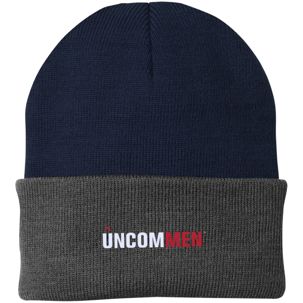 UNCOMMEN Logo - One Size Fits Most Knit Cap