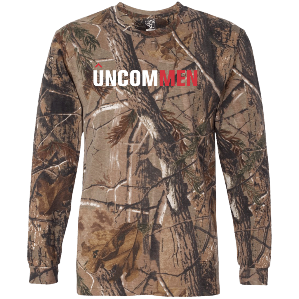 UNCOMMEN Logo - Long Sleeve Camo T-Shirt