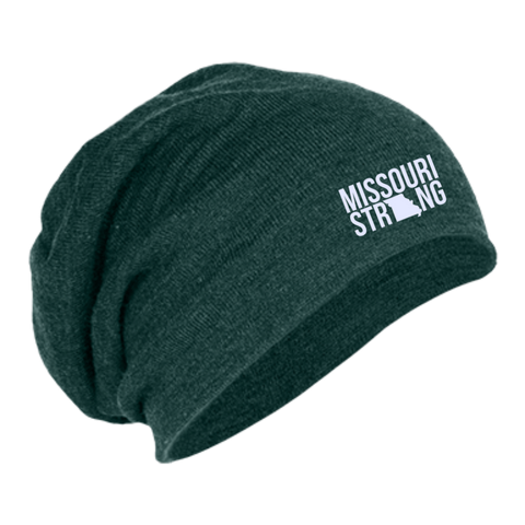 Image of MO Strong - Slouch Beanie - Kick Merch - 4