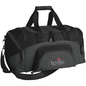 IGNITE church - Small Colorblock Sport Duffel Bag - Kick Merch - 1