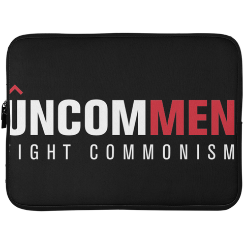 Image of UNCOMMEN Fight Commonism - Laptop Sleeve - 15 Inch