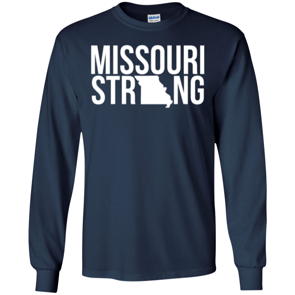 MO Strong - Long Sleeve T shirt - Kick Merch - 7